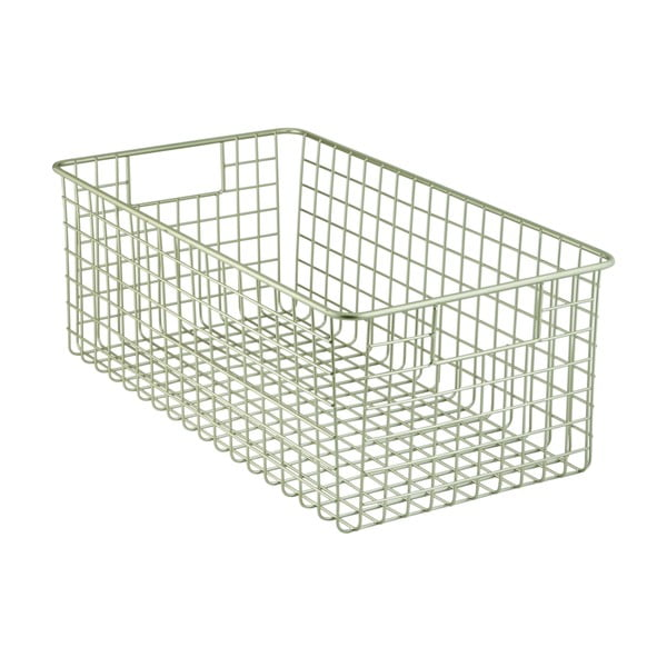 Metalowy koszyk iDesign Classico, 40,5x23 cm