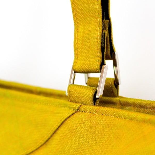 Taška FAQ žlutá, velikost L