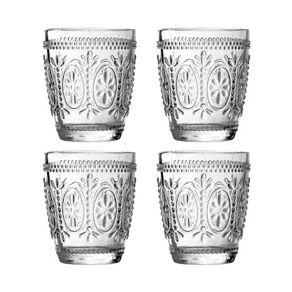 Zestaw 4 szklanek Premier Housewares Fleur, 280 ml