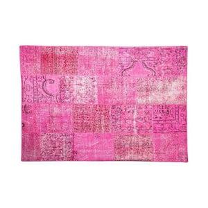 Vlněný koberec Allmode Pink, 150x80 cm