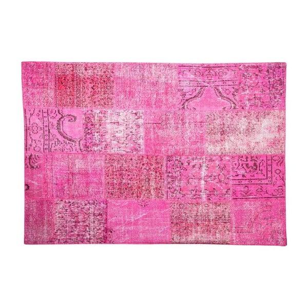 Vlněný koberec Allmode Pink, 200x140 cm