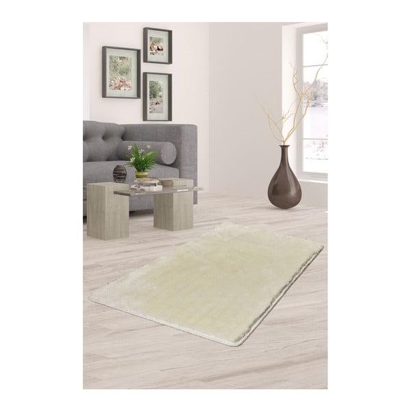 Krémově bílý koberec Milano, 140x80cm