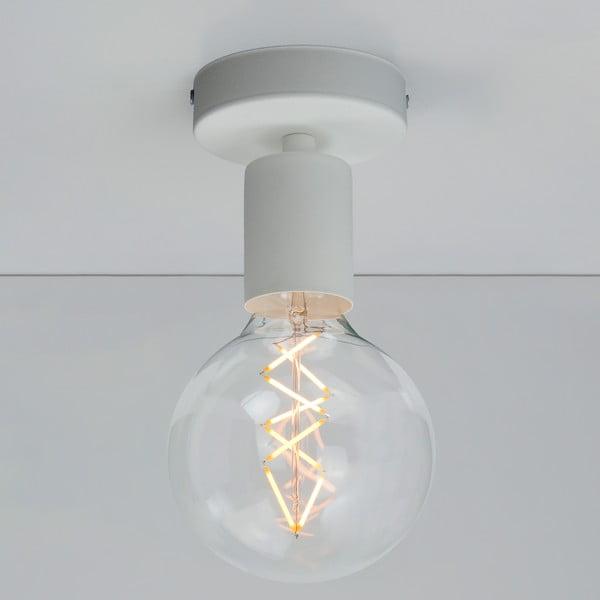 Bílé stropní svítidlo Bulb Attack Cero