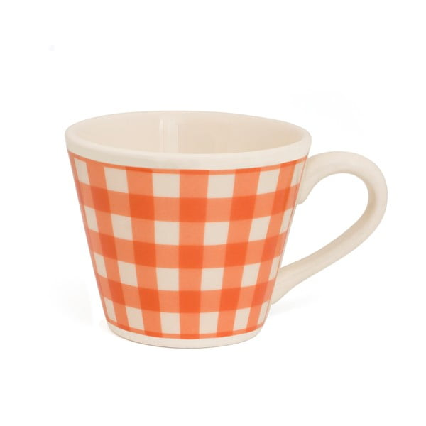 Hrnek od Nigelly Lawson Gingham Orange
