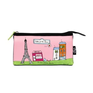 Kosmetická taška Helen P'tit Paris, pink/green