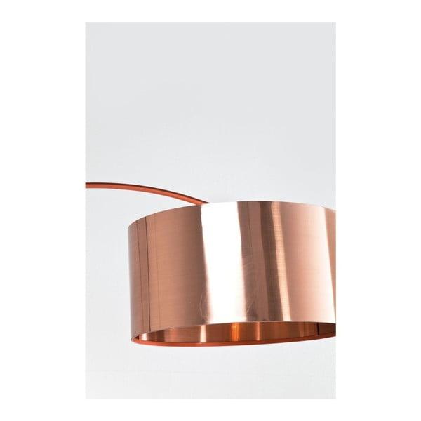 Stojaci lampa v medene barve kare design gooseneck