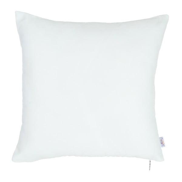 Bílý povlak na polštář Apolena Simple, 43 x 43 cm