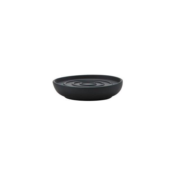 Černá miska na mýdlo Zone Nova