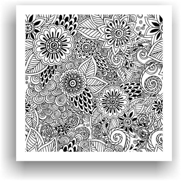 Obraz k vymalování Color It no. 65, 50x50 cm