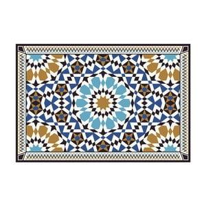 Vinylový koberec Devra Blue, 52x180 cm