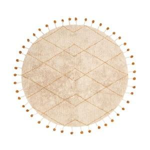 Bavlněný koberec s žlutými detaily Nattiot Tanvi