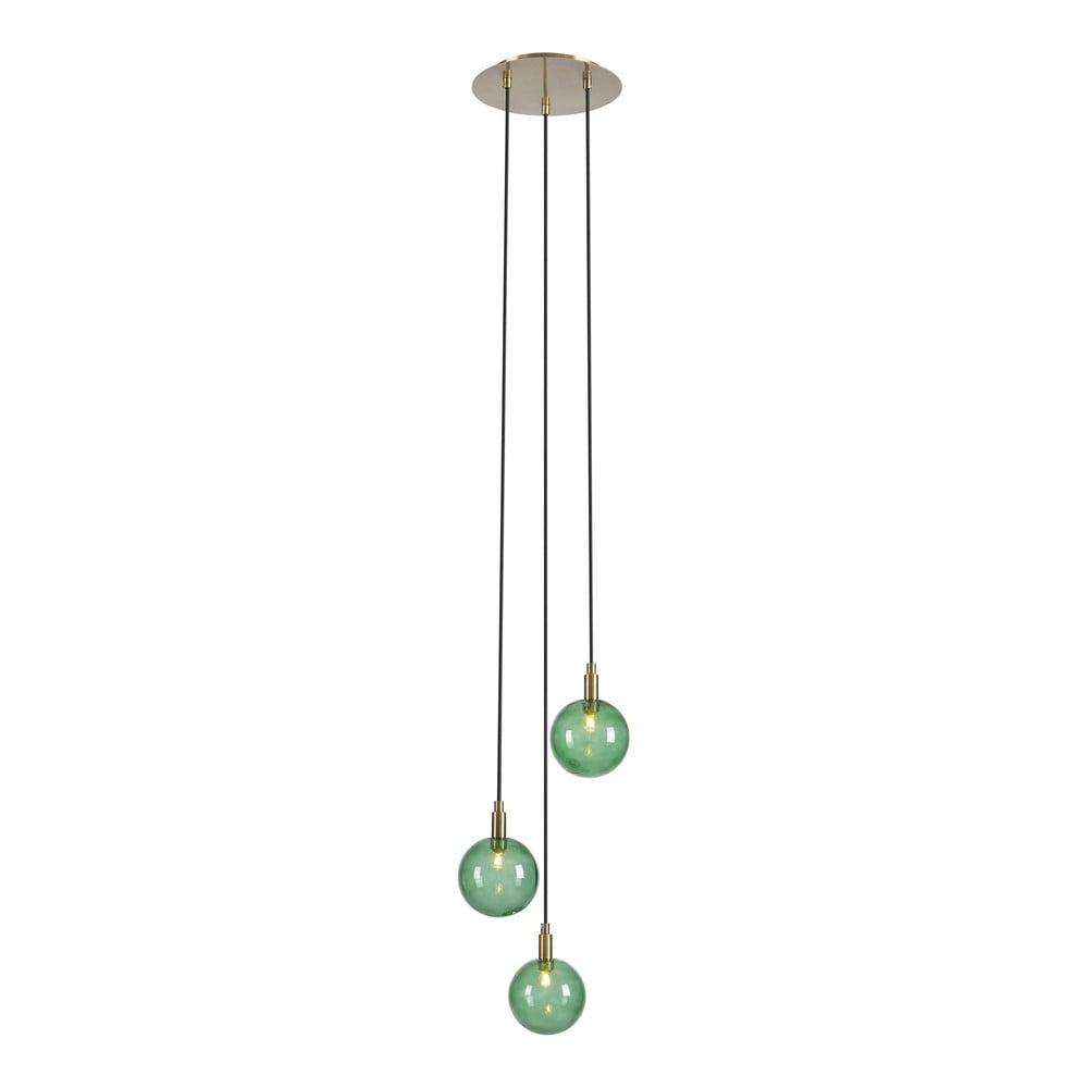Zelené závěsné svítidlo Markslöjd Uno Pendant 3L