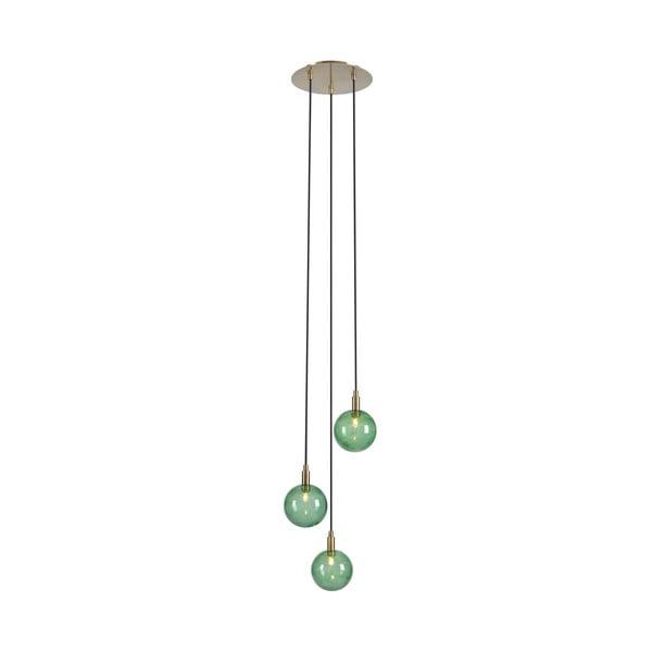 Lustră Markslöjd Uno 3L, verde