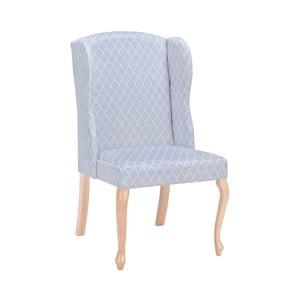 Světle šedá židle Windsor & Co Sofas Libra Designs