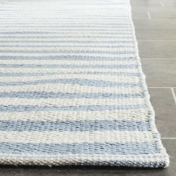 Bavlněný koberec Mya Blue, 121x182 cm