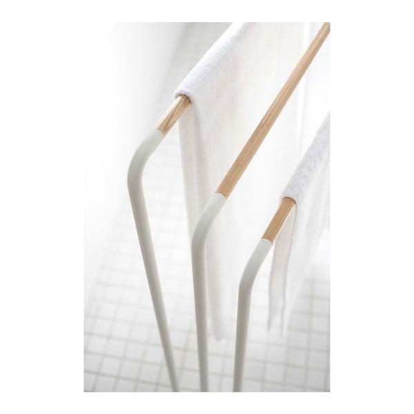 Bílý stojan na ručníky YAMAZAKI Plane