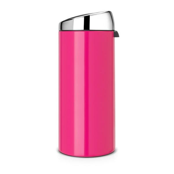 Dotykový odpadkový koš Touch Bin, 30 l, růžový