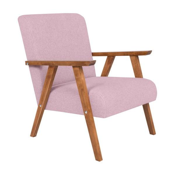 Terry halvány rózsaszín fotel - HARPER MAISON