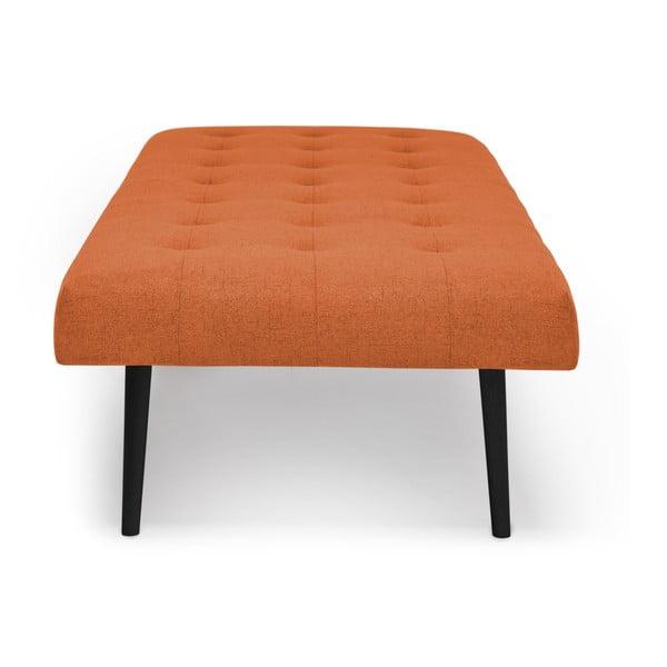 Tmavě oranžová lenoška s černými nohami Vivonita Ella