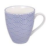 Modrý porcelánový hrnek Tokyo Design Studio Wave