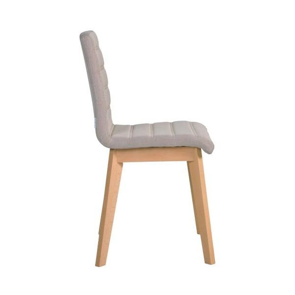Sada 2 béžových židlí Garageeight Nybro