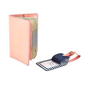Cestovní peněženka s visačkou na kufr Busy B Travel