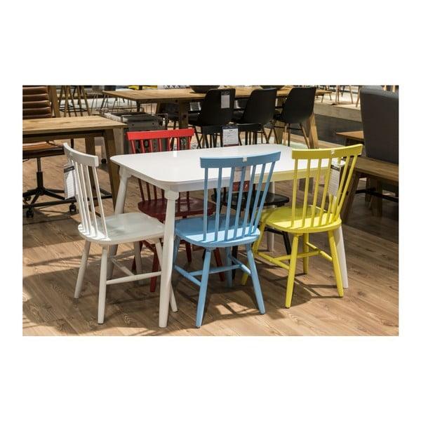 Červená jídelní židle Actona Riano