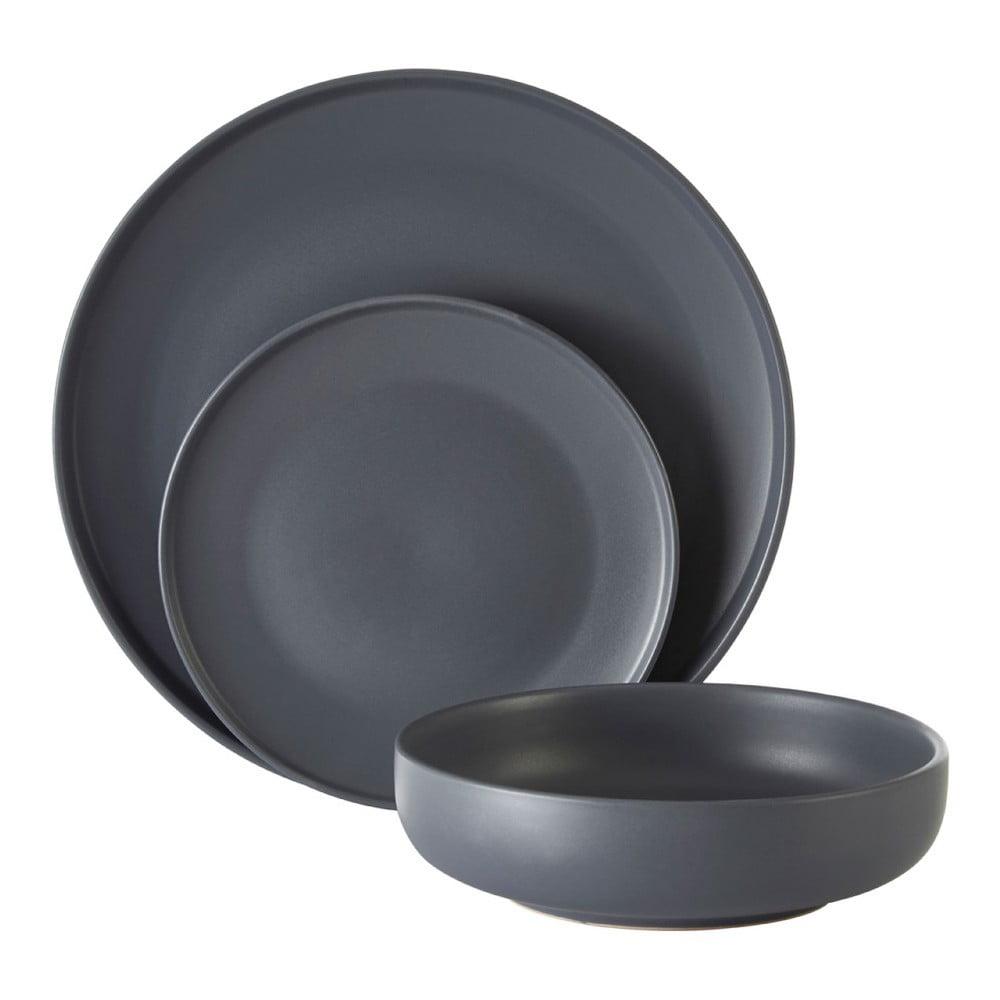 12dílná sada nádobí z kameniny Premier Housewares Malmo