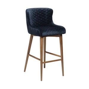 Modrá barová židle DAN-FORM Denmark Vetro
