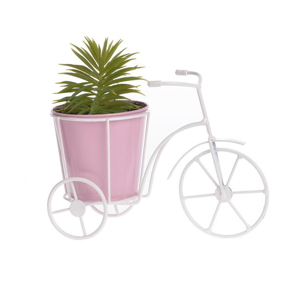 Květináč Bicycle, růžový