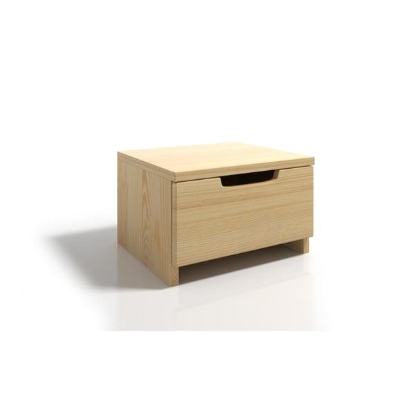 Noptieră din lemn de pin cu sertar SKANDICA Spectrum