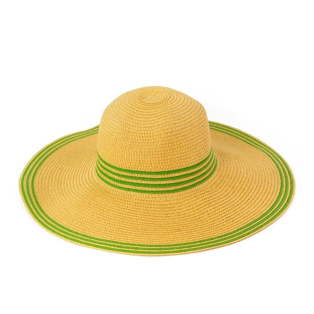Žlutý klobouk Art of Polo Warm
