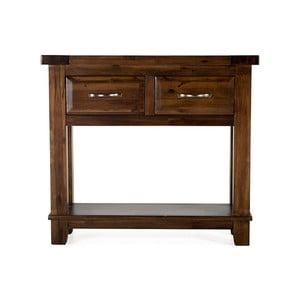Konzolový stolek z akáciového dřeva VIDA Living Emerson