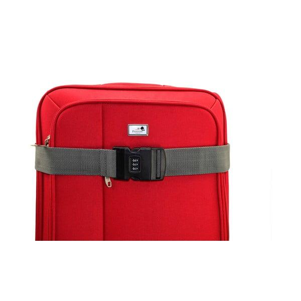 Šedý zámek na kufr BlueStarAccess