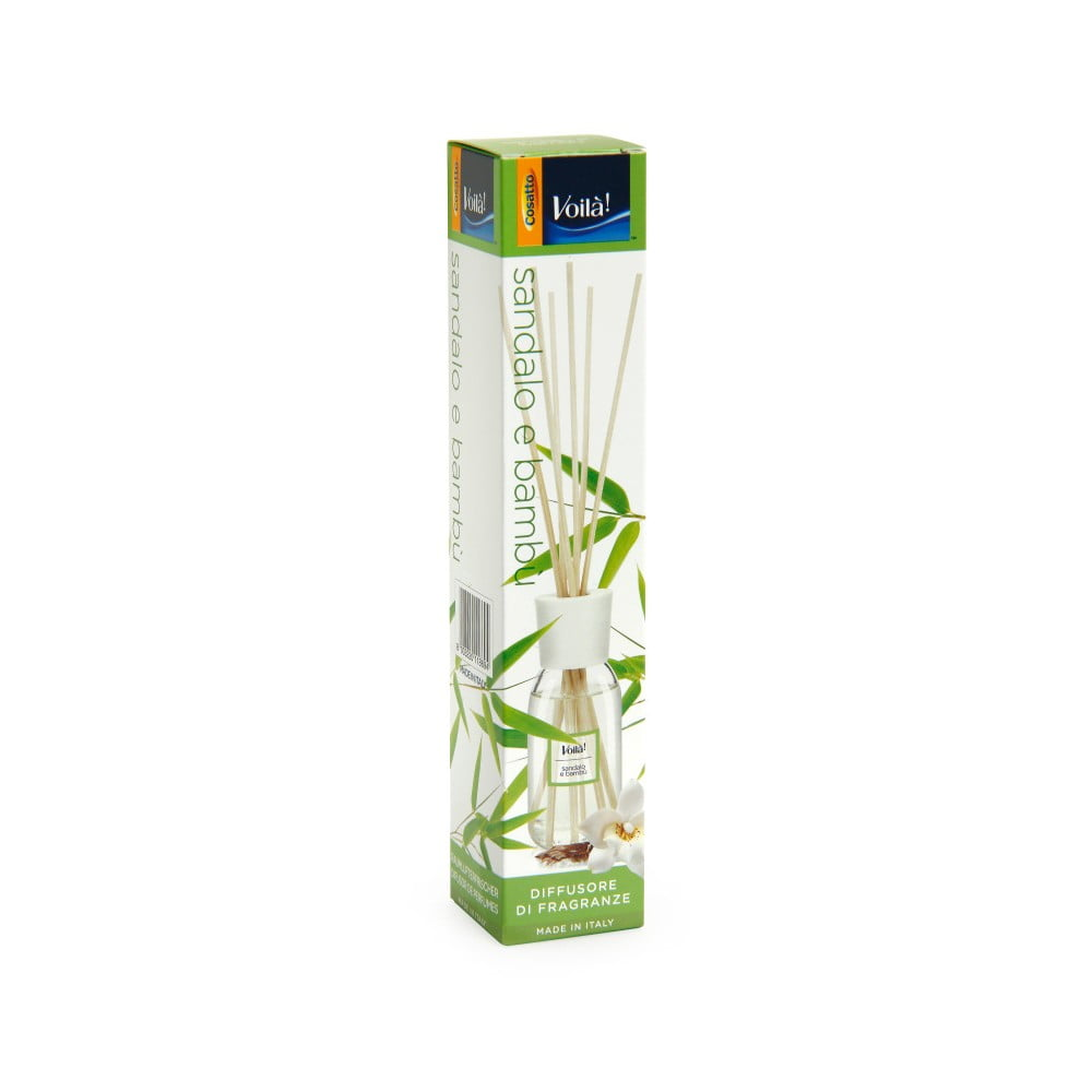 Vonný difuzér s vůní santalového dřeva a bambusuCosatto Perfume
