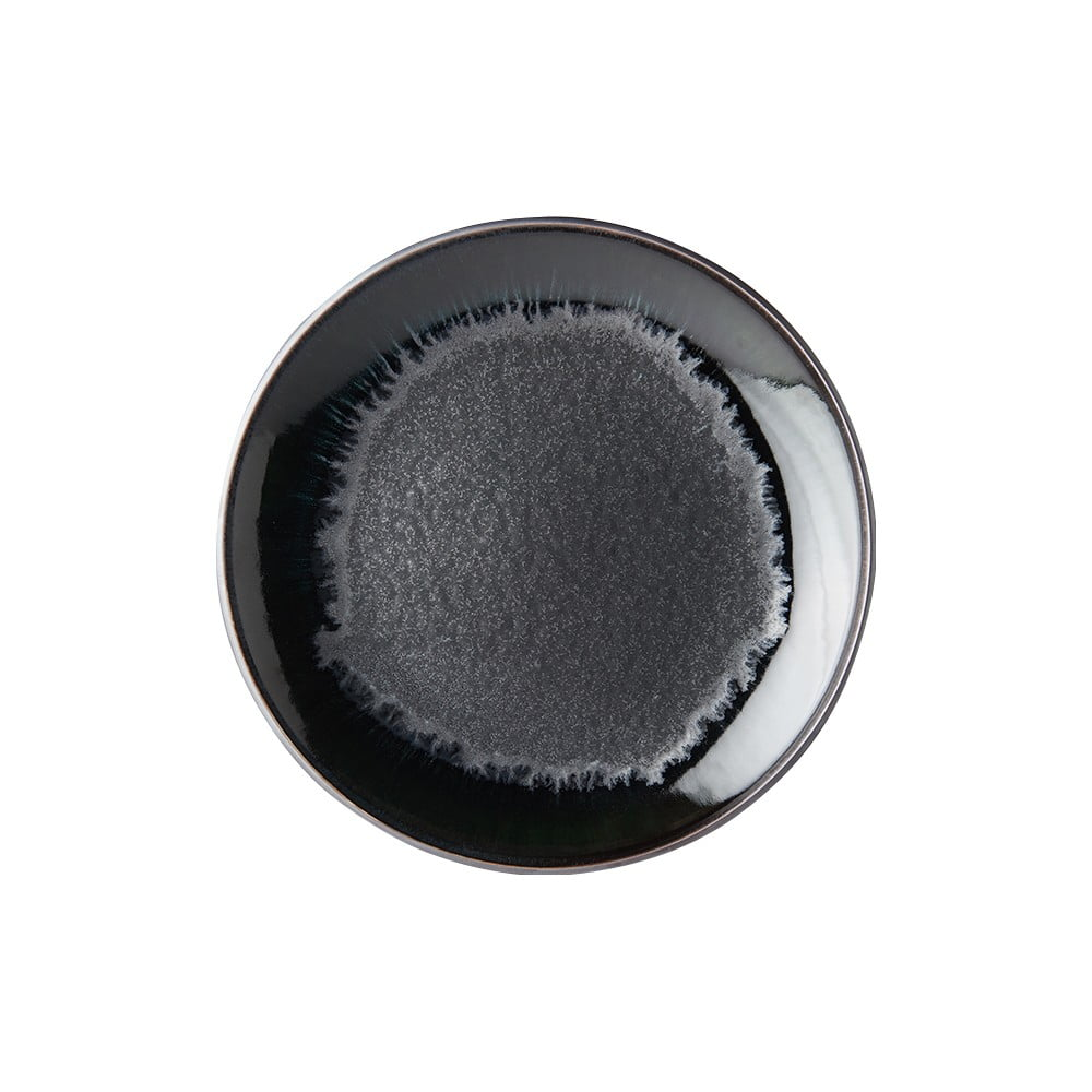 Černý keramický talíř MIJ Matt,ø29cm