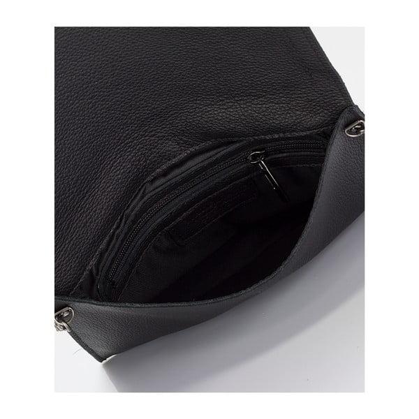 Kožená kabelka Giorgio Costa 3013 Black