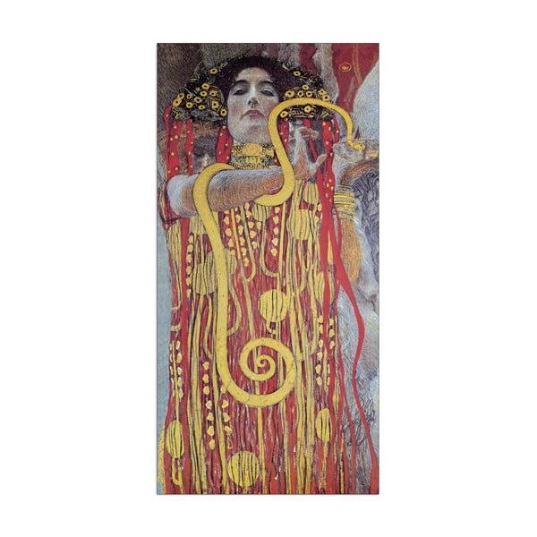 Obraz Klimt - Hygieia, 50x100 cm