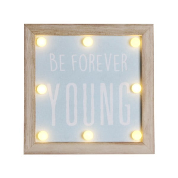 Rámeček s LED žárovkami Maiko Forever Young
