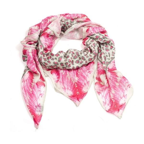 Vlněný šátek s kašmírem Roxy, 130x130 cm