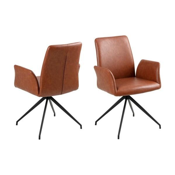 Naya konyakbarna fotel - Actona