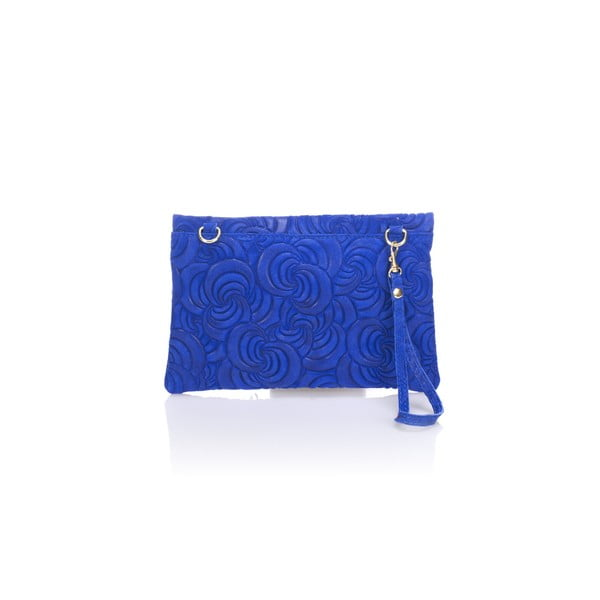Modré kožené psaníčko Lisa Minardi Silvia