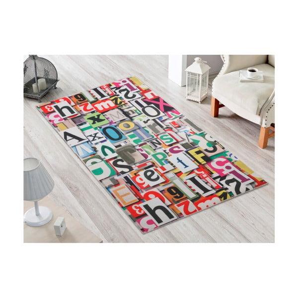 Alphabet ellenálló szőnyeg, 80x140 cm - Vitaus