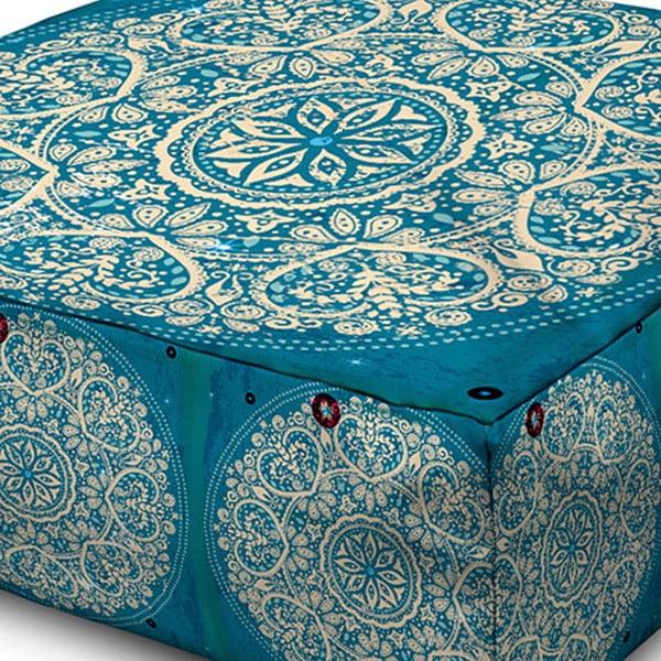 Puf Margao Turquoise