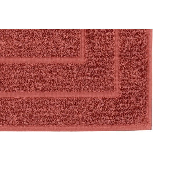 Červená koupelnová předložka Cerceve