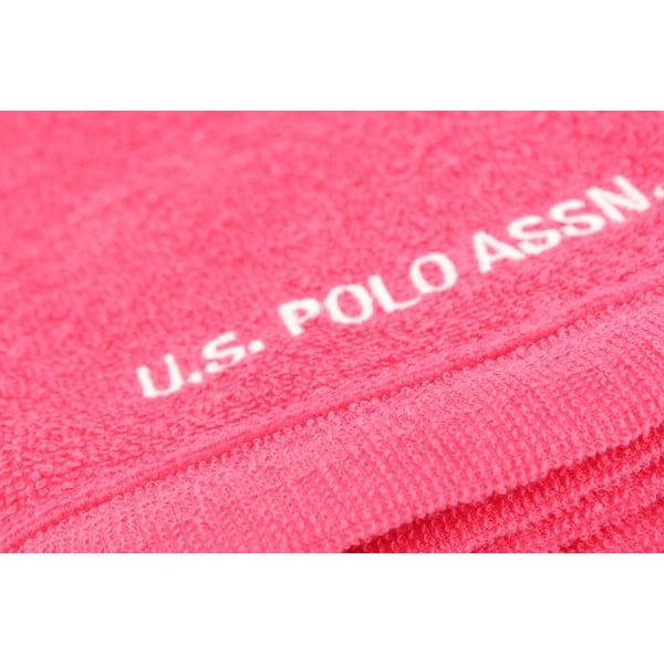 Sada 2 osušek U.S. Polo Assn. Wash Fuchsia, 30x50 cm