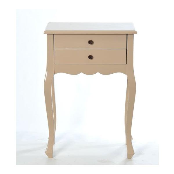 Odkládací stolek Vintage Cappuccino, 52x35x72 cm