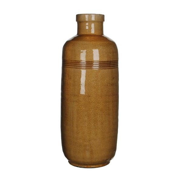 Keramická váza Abbey Ochre, 60x21 cm