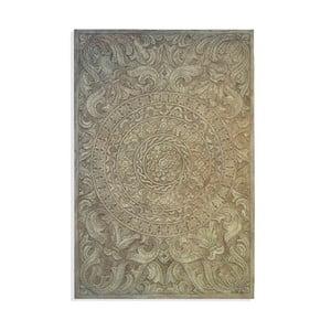 Nástěnná dekorace Grey Pannel, 80x120 cm