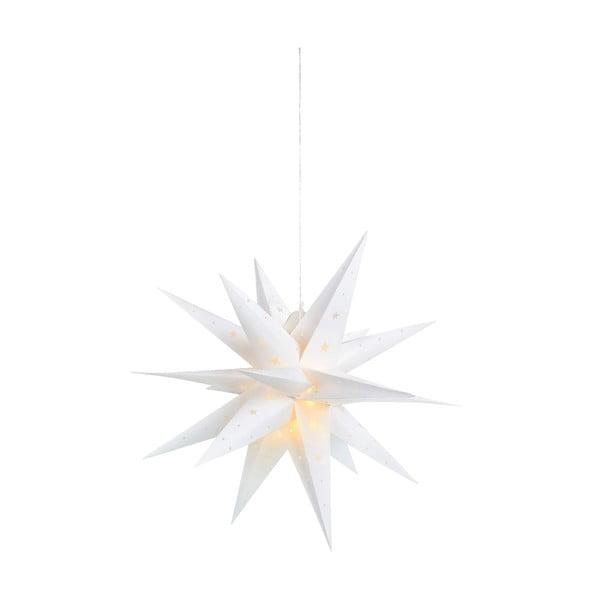 Decorațiune suspendată cu LED Markslöjd Vectra, ø 60 cm, alb